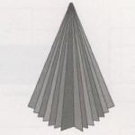 Объемная новогодняя елка оригами своими руками
