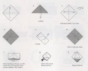 Новогодний шар оригами своими руками