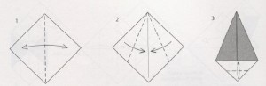 елочка оригами к новому году