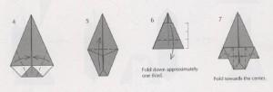 елочка оригами схема как делать