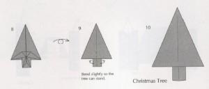 елочка оригами схема как сделать просто