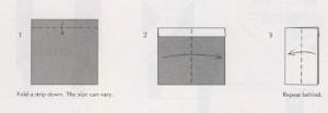 сапог деда мороза или санта клауса оригами схема