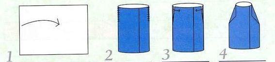 Как из бумаги сделать цилиндр 872