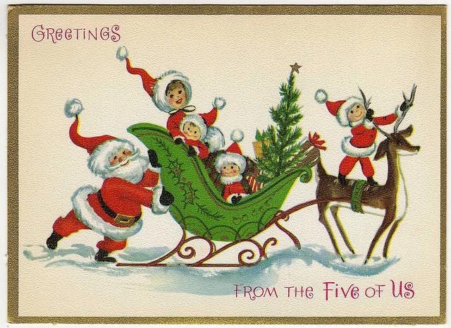 Раскраски открытки с новым годом 2016 распечатать