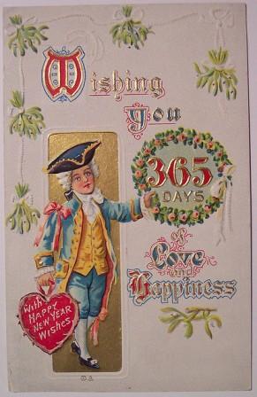 Поздравительные открытки с Новым Годом на английском – Greetings