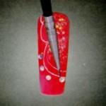 новогодняя роспись ногтей фотогалерея
