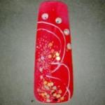 роспись ногтей новогодний дизайн