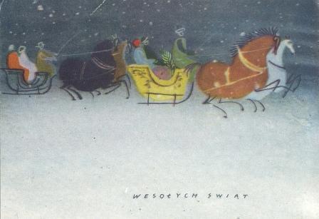 Новогодние открытки разных стран