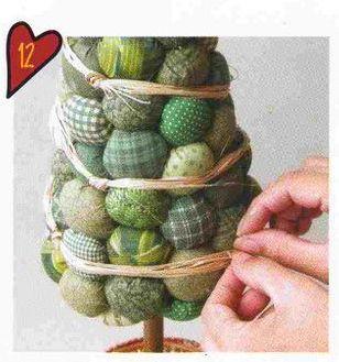 Шаг 11 Новогодняя поделка елка