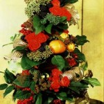 Как украсить офис к Новому году - необычные елки фото