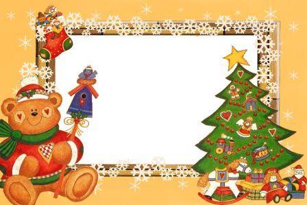 Детские новогодние рамки для фото скачать бесплатно
