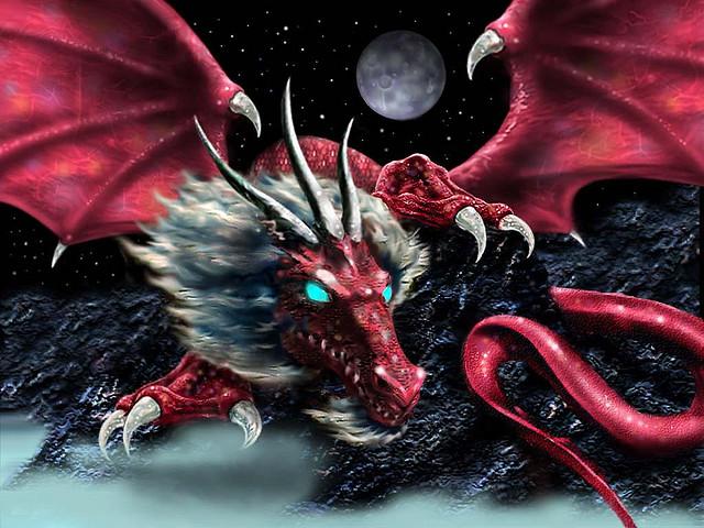 дракон рисунки скачать