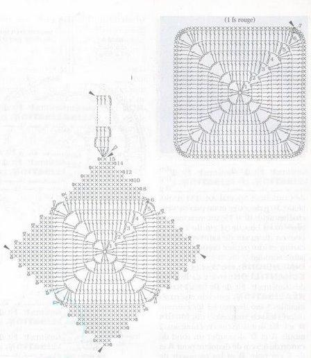 вязаные украшения схемы вязания