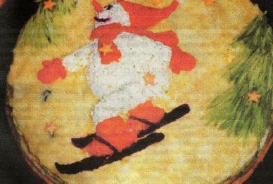 оригинальная закуска к новогоднему столу рецепт с фото
