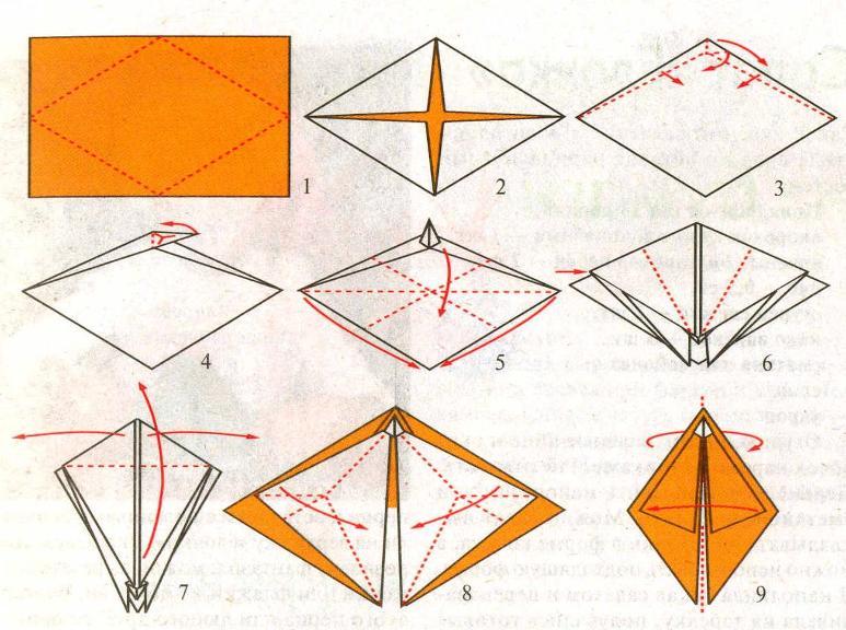 Как сделать из бумаге ногти