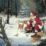 Новогодние стихи-сказки для детей