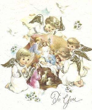 Старинные рождественские открытки скачать