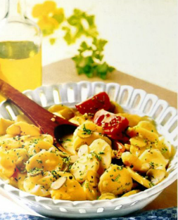 салат картошка фото