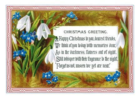 Открытки - поздравления с Рождеством на английском языке