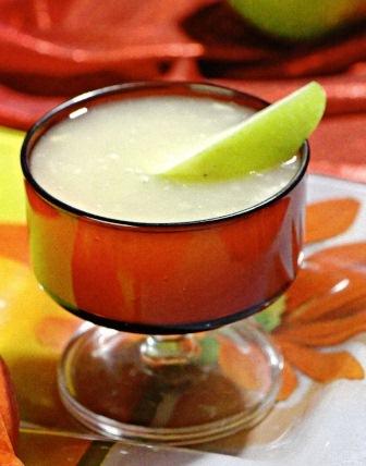 Кисель из яблок с белым вином постное блюдо фото