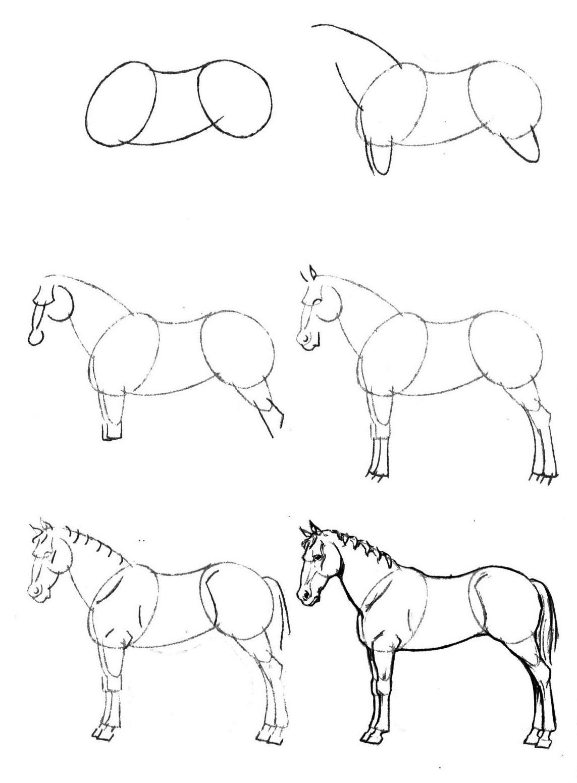 Как нарисовать карандашом поэтапно милую картинку