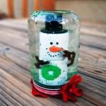 Стеклянный шар со снегом внутри – как сделать своими руками