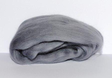 шерсть меринос серого цвета