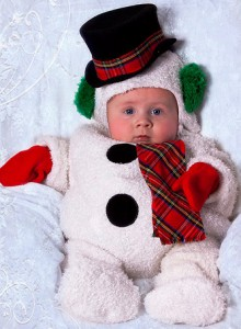 Как сделать новогодний костюм снеговика