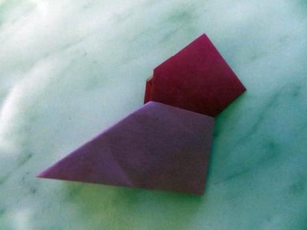 Рождественский венок в технике модульного оригами