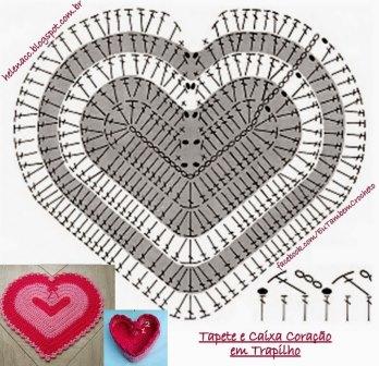 Красивые вязаные сердечки фото
