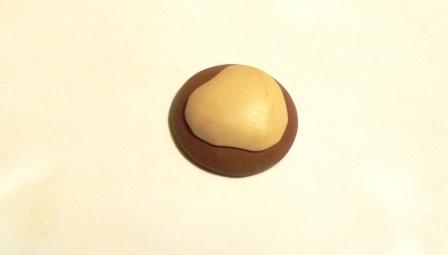 Обезьяна из полимерной глины