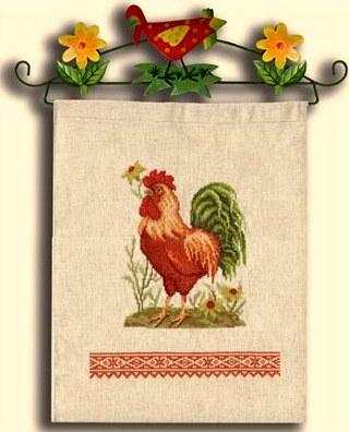 Схемы вышивки Петуха крестом скачать бесплатно