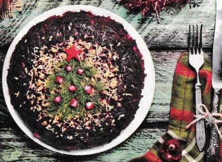 салат елочка на новый год рецепт