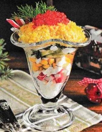 рецепт простого вкусного салатика