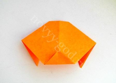 формируя треугольничек