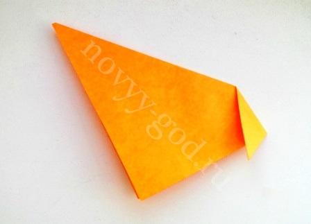 сделать туловище собачки оригами