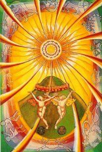 аркан XIX Солнце
