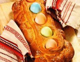 Греческий пасхальный хлеб рецепт фото