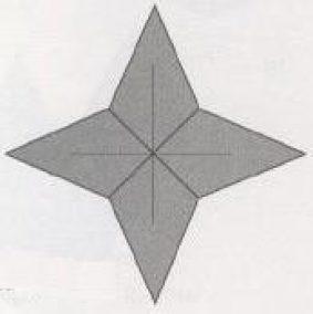 Миниатюра к статье Новогодняя звездочка оригами – как сделать