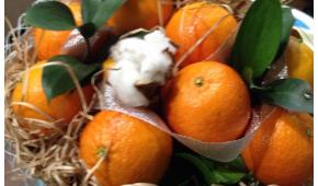 Миниатюра к статье Букет из мандаринов своими руками — пошаговые фото, идеи, мастер-класс
