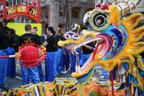 Новогодние поздравления с годом Дракона 2012