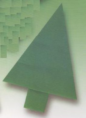 елочка оригами - как делать