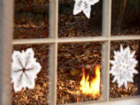 Новогоднее окно - украшаем окна к новому году