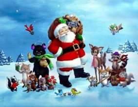 Новогодние тесты для Деда Мороза и Снегурочки