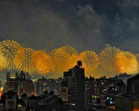 Новый Год в Нью-Йорке весело и круто