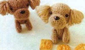 Миниатюра к статье Схемы вязания собак амигуруми (пудель, далматинец, папильон)