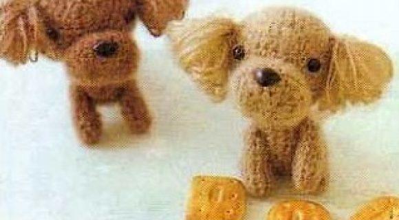 Схемы вязания собак амигуруми