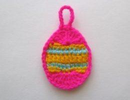 Пасхальное яйцо крючком – простая схема для начинающих