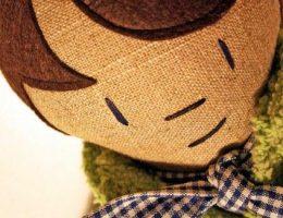 Первая кукла для меня. Новогодняя история фото