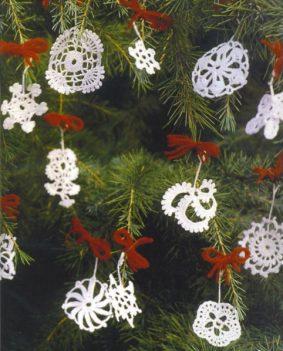 Новогоднее вязание – снежинки своими руками (схемы)